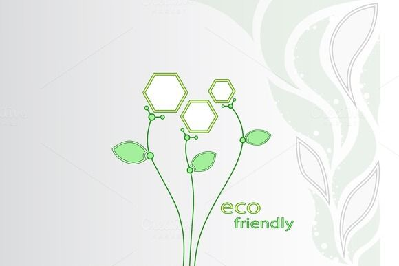 Check out Abstract flowers. Ecotechnology. by NikSorl on Creative Market