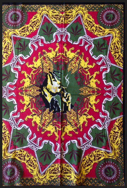Bob Marley Poster Size Tapestry For The Home Bohemian
