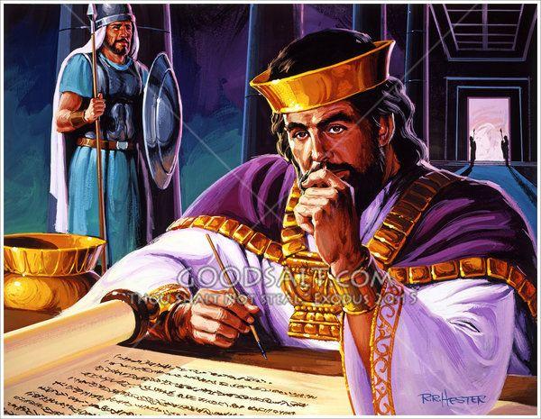 Solomon seeks for wisdom