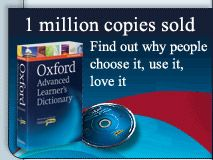 Oxford Dictionaries - with pronounciation in American and British English. 3000 most common words, usage notes, picture dictionary.