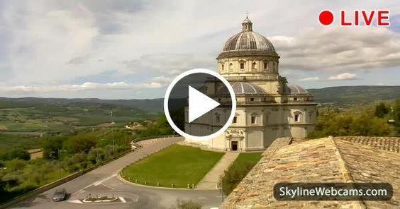 Todi, view of Santa Maria della Consolazione