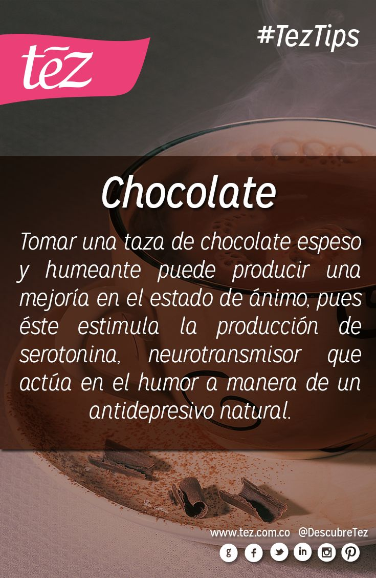 Beneficios del #chocolate.