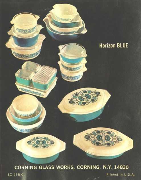 Horizon Blue.....love the refrigerator containers