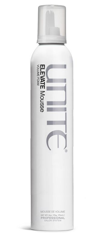 Not your 80's, crunchy mousse, but an innovative, weightless foam that will ELEVATE your hair for a full bodied, frizz-free style that is soft, shiny and moveable. With argan oil, added thermal and UV protection and an incredible memory, this mousse will keep your hair healthy and lifted with lasting shine, even on your longest days.