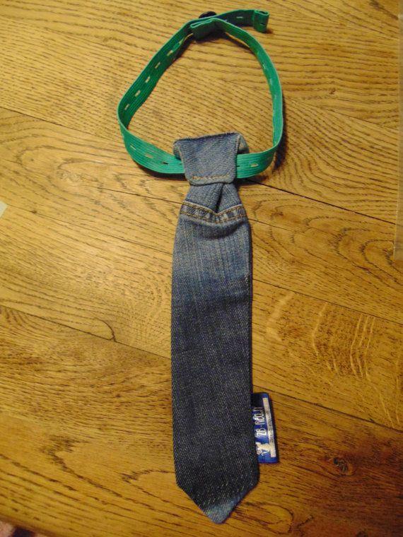 makkelijke stropdas jeans voor jongen of meisje maat S door 2Bready