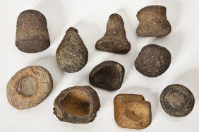 10 Native American Stone Tools : Lot 315