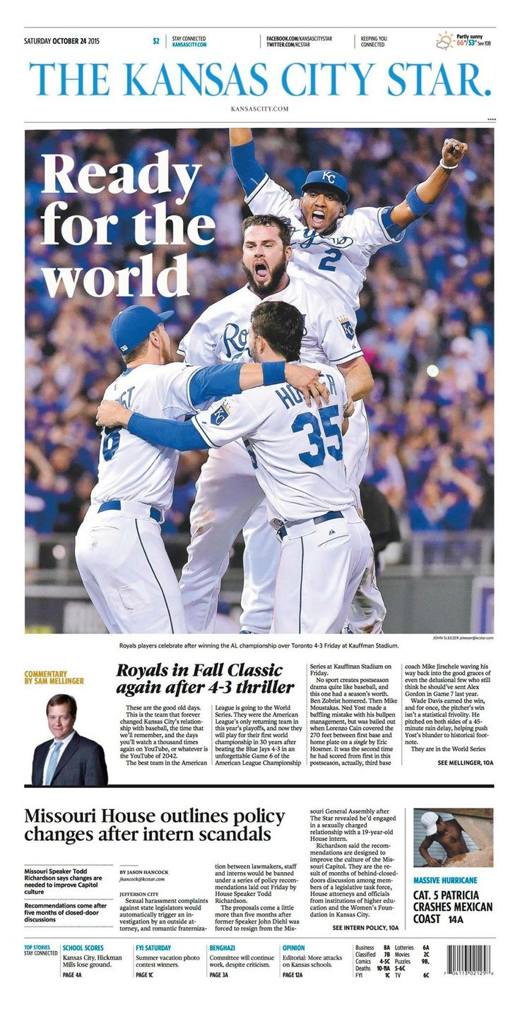 Kansas City Royals - 2015 World Series Bound!!!