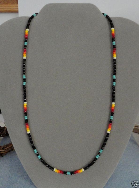 Native American Seed Bead Bracelets   Found on ebay.com