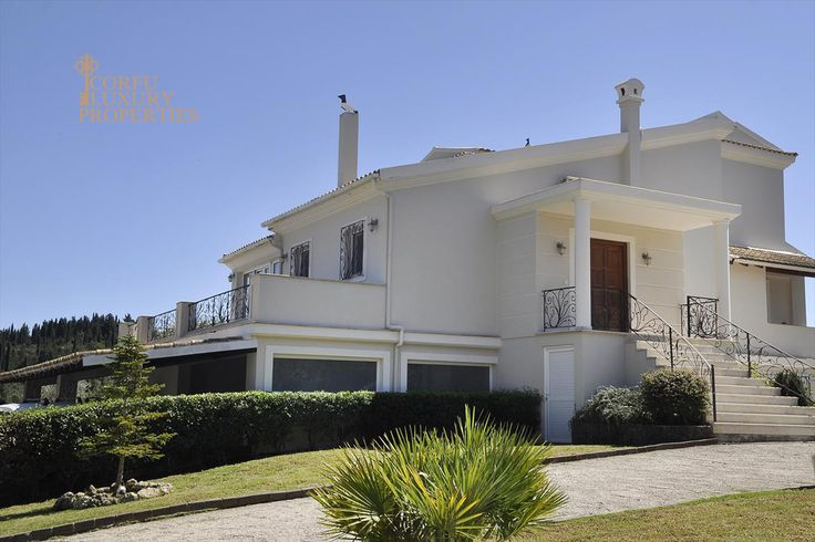 Impressive villa for sale in Poulades, central Corfu From: http://corfuluxuryproperties.com/property/impressive-villa-for-sale-in-poulades-central-corfu/