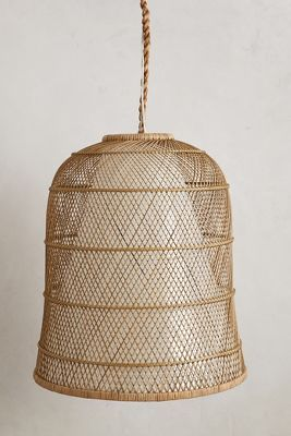 honeycomb pendant lamp <3