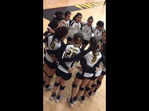 Lady Falcons Volleyball Chant - YouTube