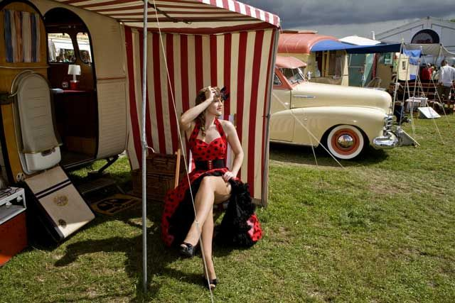 A vintage outfit only works if they appear to be your own clothes and you feel comfortable in them, It can't look like you are going to a fancy dress party. 'A retro revolution: Why do we love all things vintage?' article about the 'Vintage at Goodwood' Festival in West Sussex by John Walsh.