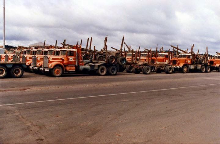 Pin by robert stephenson on logging vintage trucks