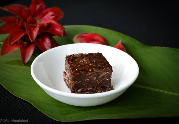Raw, gluten, grain, fructose and dairy free Cacao Rough. A delicious snack in just minutes. This is a recipe to die for!