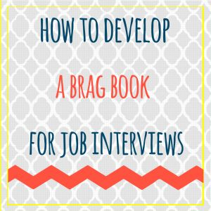 """How To Develop A """"Brag Book"""" For Job Interviews #splashresumes #9to5project"""