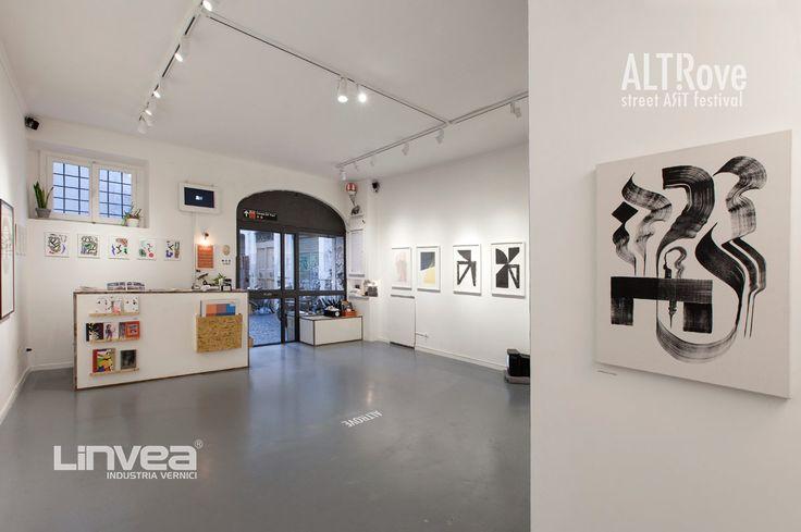Altrove: arte pubblica per Catanzaro - Linvea - Industria Vernici Italiana