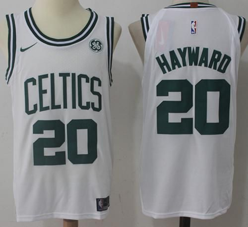 buy popular 1c596 411ac Nike Celtics #20 Gordon Hayward White Stitched NBA Jersey ...