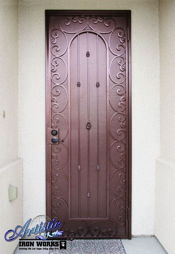 242 Best Images About Wrought Iron Security Doors On Pinterest