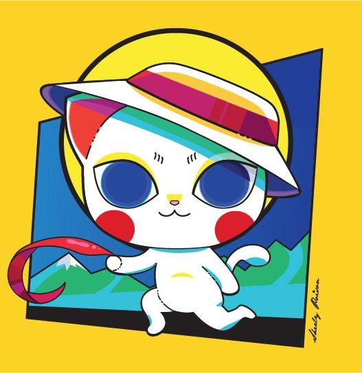 Gatito Campesino-Por Sherly poison- 2008 Cute cat-white cat