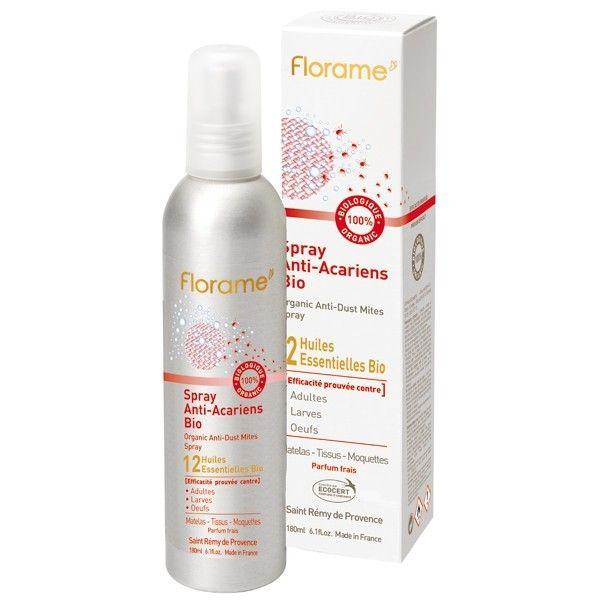 Spray Anti acarien bio Florame - Anti acarien naturel - les-huiles-essentielles-bio