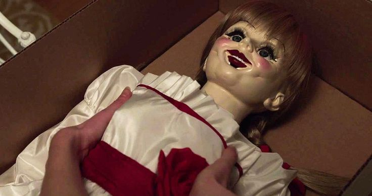 'Annabelle' TV Spot Brings 'The Conjuring' Doll to Suburbia -- Every evil has an origin in Warner Bros.' 'The Conjuring' spin-off 'Annabelle', arriving in theaters this October. -- http://www.movieweb.com/annabelle-movie-tv-spot-conjuring-doll