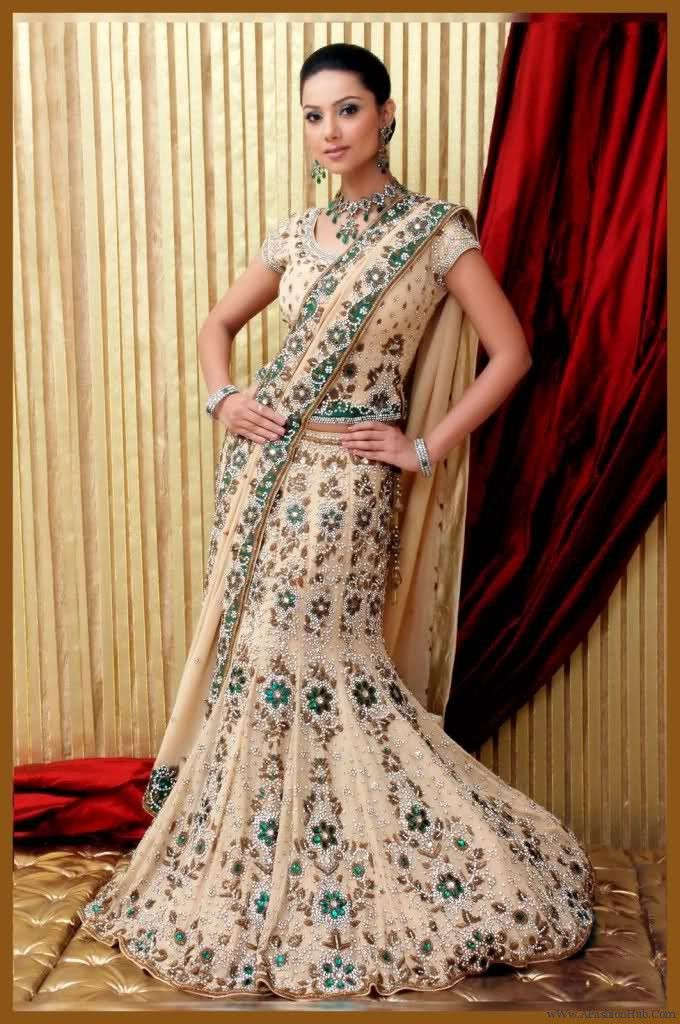 Indian Wedding Dress Designs – Can you find your indian wedding dress designsa nywhere ? Do you have a clear picture in your mind of what your dream dress should look like?