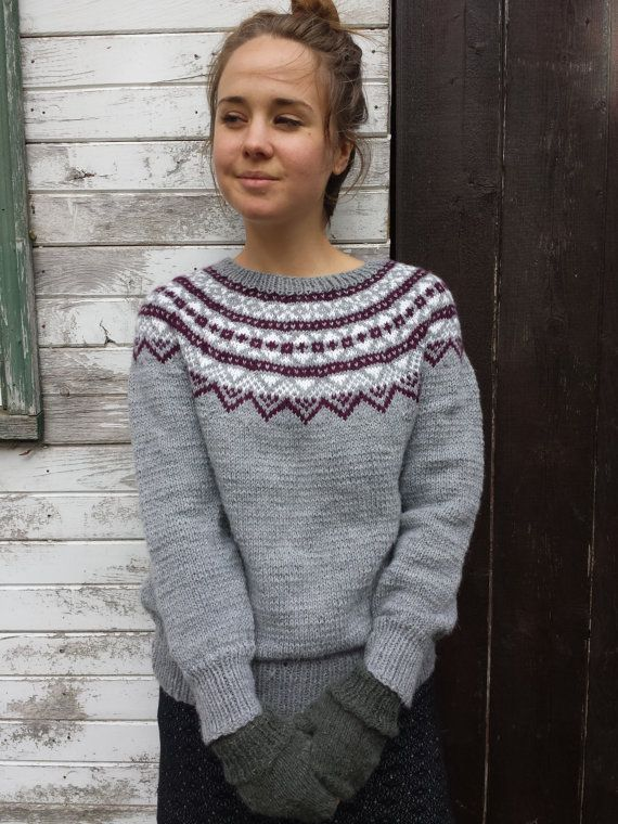 383 best Icelandic Lopi Sweaters images on Pinterest | Colours ...