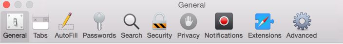 Apple releases OS X Yosemite Developer Preview 6 - New Safari Preferences icons as well.