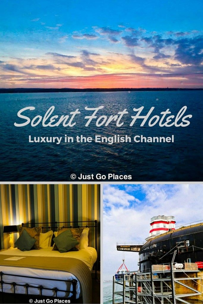 Solent Fort Hotels, historical forts in the English Channel converted to luxury hotels