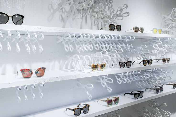 "SINSA GAROSU-GIL, Sinsa-Dong, Seoul, Korea, ""Get Your Edge"", for Gentle Monster Eyewear, pinned by Ton van der Veer"