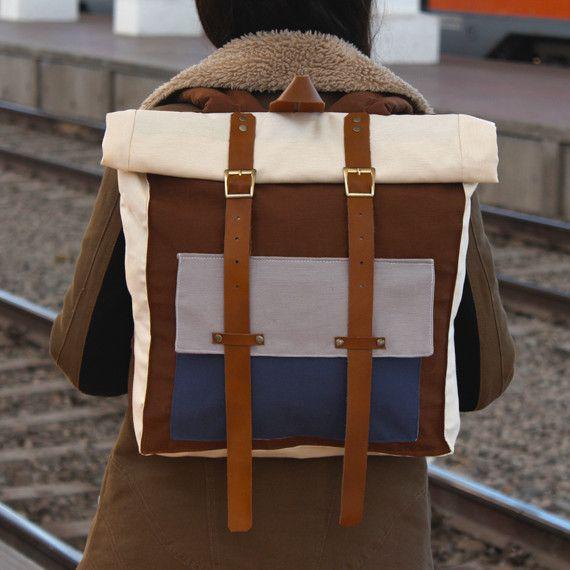 Mochila Modelo A Version Codorniz Disponible en www.cotorra.cl