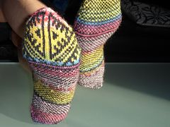 Ravelry: marvelous1's Turkish socks again