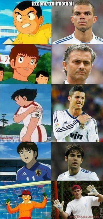 who is who in Real Madrid. jajajaja