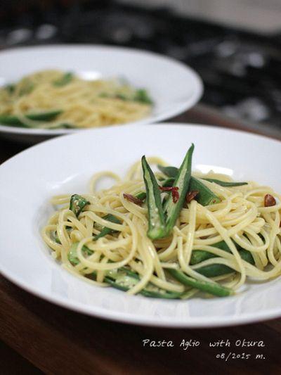 オクラのペペロンチーノ by 金澤みずえさん | レシピブログ - 料理 ...
