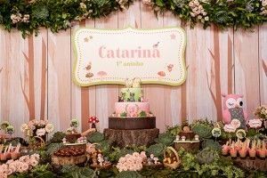 festa infantil bosque encantado - La Nick Decor