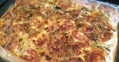 Lekker eten met Marlon: Grote hartige taart - quiche - met kip en Italiaanse kruiden