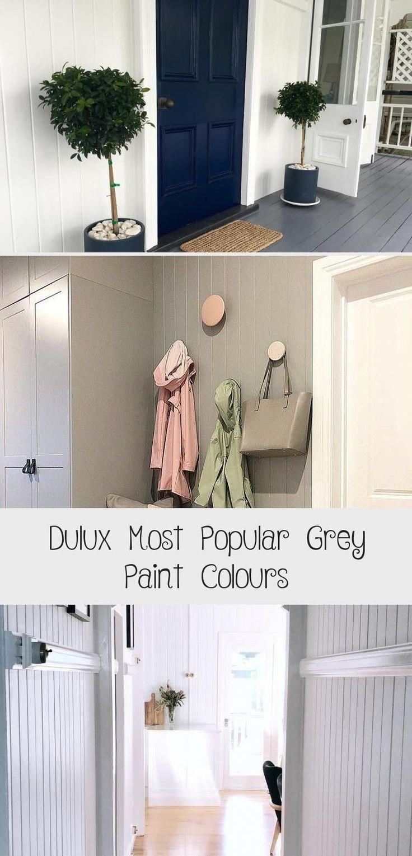 Dulux Most Popular Grey Paint Colours. Bedroom walls