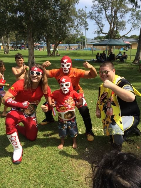 08/03/2015 Happy 5th Birthday Colten we hope you and your superstar friends had a slamming Birthday Party and you all are enjoying your presents especially your very own Super Wrestling Heroes Championship Belt!  To have the Super Wrestling Heroes be apart of your son or daughters next birthday party visit www.superwrestlingheroes.com.au  ARE YOU READY TO PARTY?! ‪#‎superwrestlingheroes‬ ‪#‎wrestlingparty‬ ‪#‎botanyaquaticcentre‬ ‪#‎botany‬ ‪#‎sydney‬