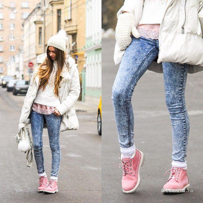 Уличная мода: Зимняя уличная мода 2017: модные образы российских блогеров