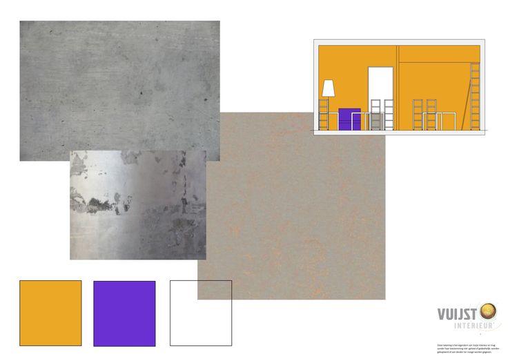 Vuijst ontwerpt   Inrichting studio Arc2 architecten - Almere