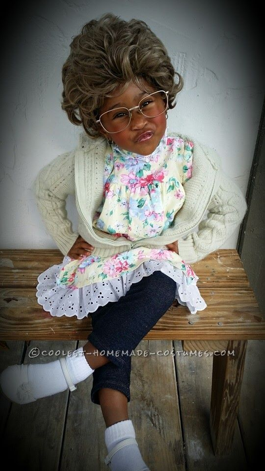 Madea Goes Trick or Treating in a Cool Grandma Costume... Coolest Halloween Costume Contest