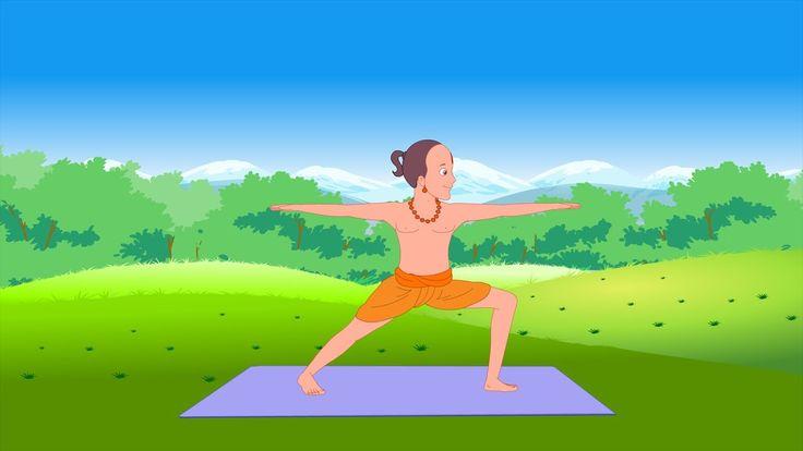 Animated clips that aim at teasing your little one into learning about health and incorporating routines that will take them a long way. Standing postures in yoga are said to improve muscular pliability. Yoga for Kids - Vol 1 (All Standing Postures) includes :  Tadasana - 00:03 Urdhva Hastasana - 01:13 Vrikshasana - 02:00 Utkatasana - 03:18 Utthita Trikonasana - 04:22 Virabhadrasana - 06:21 Virabhadrasana II - 08:23 Uttanasana - 10:13 Adho Mukha Shvanasana - 11:27 Surya Namaskar - 12:52