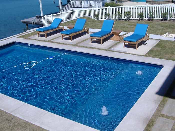 195 best pools images on pinterest backyard ideas pool for Pool design with tanning ledge