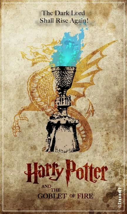 Harry Potter And The Goblet Of Fire Poster....