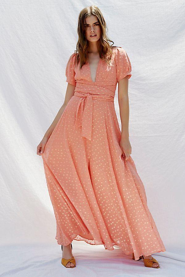 77e764f6827 Wanderer Maxi Dress in 2019 | Dresses | Peach maxi dresses, Dresses ...