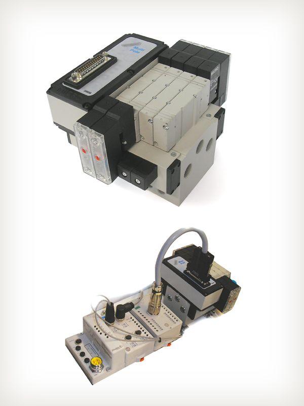 Estación de válvulas electroneumáticas de Automación Micromecánica S.A.I.C., distinguida con el Sello de Buen Diseño 2013.