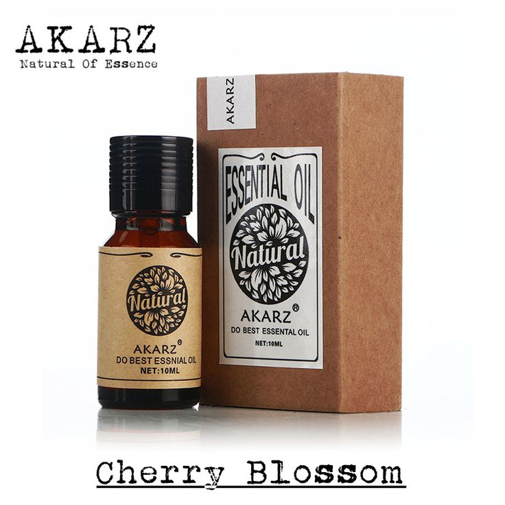 Marca famosa akarz pure natural cherry blossom olio essenziale sbiancamento della pelle ripristinare l'elasticità della pelle relax cherry blossom olio