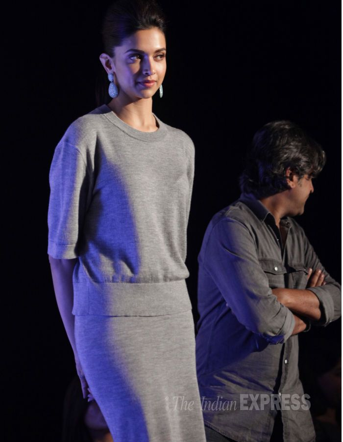 Deepika Padukone in support of ovarian cancer awareness at an event in Delhi. #Bollywood #Fashion #Style #Beauty