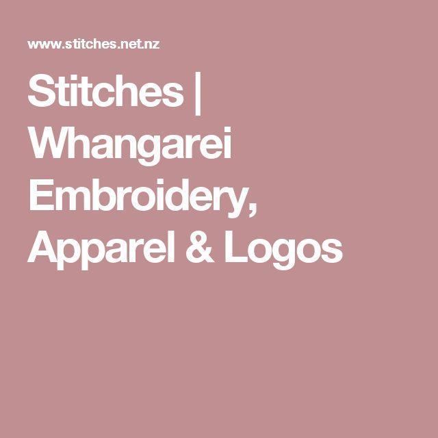 Stitches | Whangarei Embroidery, Apparel & Logos