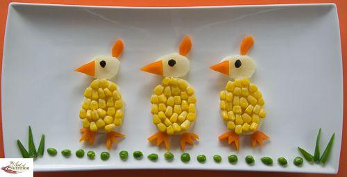 Fun Potato Chicks - Fun, healthy, creative food for kids big and small